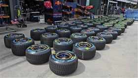 ▲倍耐力F1輪胎(圖/翻攝自Pirelli FB)