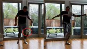 影/衛生紙買不到?金童拿來當足球踢 武漢肺炎,NBA,達拉斯獨行俠,Luka Doncic,廁紙挑戰,Lionel Messi 翻攝自IG Luka Doncic 翻攝自YouTube Barça World