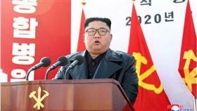 ▲朝鮮(北韓)最高領導人金正恩出席平壤綜合醫院開工儀式。(圖/取自朝鮮中央通信社)