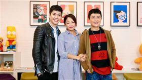 王燦、王凱、賴慧如上《娛樂超skr》談拍戲趣事(圖/民視提供)