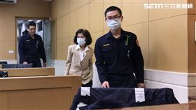 ▲大同公司董事長林郭文艷被以500萬元交保。(圖/記者楊佩琪攝)