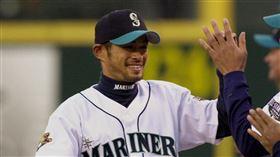 ▲2001年剛加盟水手隊的鈴木一朗(圖/美聯社/達志影像)