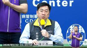 副指揮官,中央流行疫情指揮中心 陳宗彥 副指揮官,疾管署
