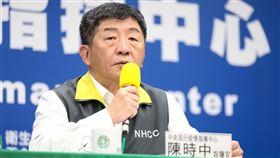0322疾管署記者會,陳時中,周志浩,中央疫情指揮中心(圖/疾管署提供)