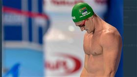 奧運金牌泳將范德伯格確診武漢肺炎。(圖/翻攝自推特)