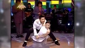 劉真與劉德華一舞成名。(圖/翻攝自優酷網視頻)