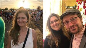 美國志工39歲的娜塔莎,輕忽了病情倒臥家中離世,男友痛哭流涕。(圖/翻攝自臉書)