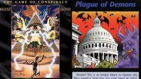 預言遊戲?上世紀桌遊「畫出武漢肺炎」 這些悲劇全都中 光明會 光明會:新世界秩序 Illuminati 圖/翻攝自微博