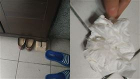 黏液,鞋內,變態,痰(翻攝自 爆怨公社)