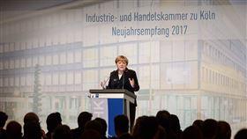 德國總理梅克爾(圖/翻攝自@RegSprecher推特)