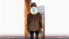 ▲國外民眾實測用尿布做口罩。(圖/翻攝自YouTube)