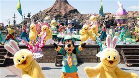 復活節 東京迪士尼,翻攝自官網