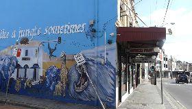 澳洲全面鎖國第一階段 雪梨街景