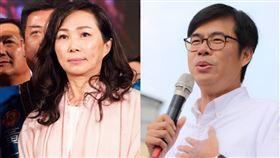 罷免韓國瑜最新民調(組合圖/翻攝韓國瑜、陳其邁臉書)