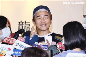 吳宗憲出面說明劉真治喪事宜 圖/記者林聖凱攝影