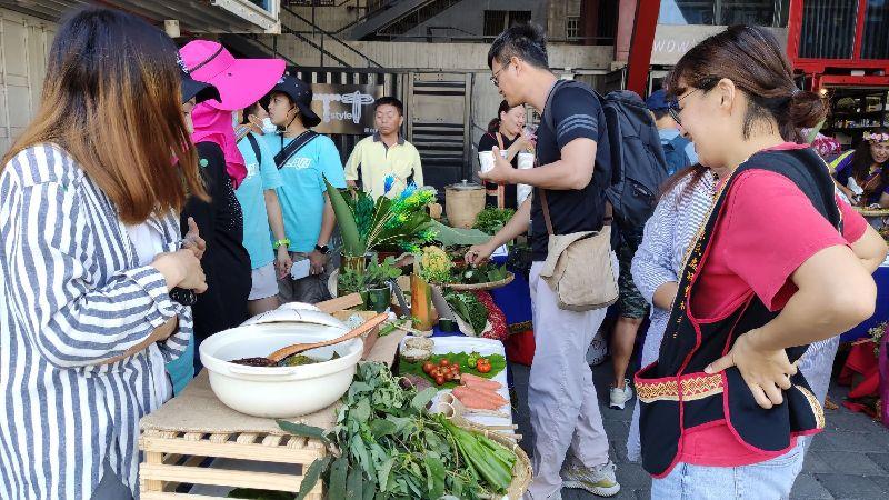 推廣原民傳統野菜 台東縣府鼓勵長者自耕復育