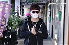 唐從聖悼念劉真(記者林聖凱攝影)
