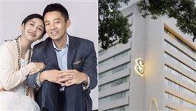 ▲藝人大S先生汪小菲經營的S Hotel為第6間防疫旅館。(圖/資料照合成)