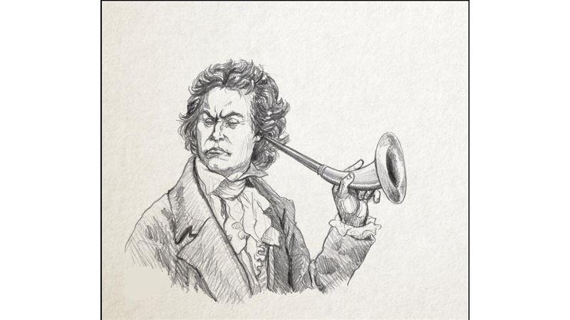 音樂學者發現 貝多芬可能沒聾