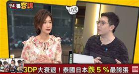 市議員王浩宇在94要客訴中,曝光百貨業蕭條情況
