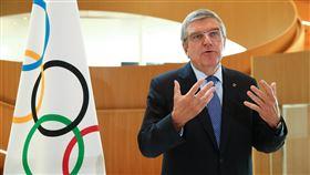 ▲國際奧林匹克委員會(IOC)主席巴赫(Thomas Bach)。(圖/美聯社/達志影像)