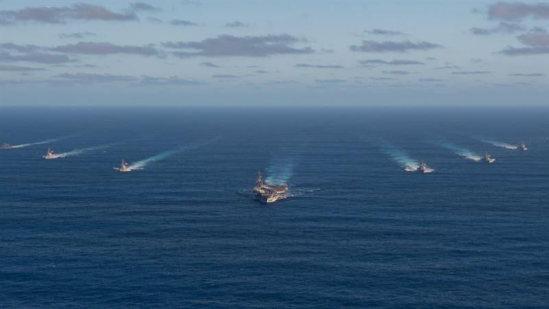 美機、航母南海聯合演練 中國軍方怒轟:挑釁!
