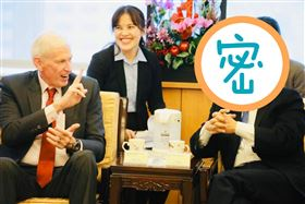 侯友宜會見美國在台協會AIT主席莫健(圖/翻攝自侯友宜臉書)