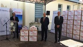 巴拉圭議員「嫌台捐口罩不夠」求加贈呼吸器 外交部回應了(圖/翻攝自駐巴大使館網站)