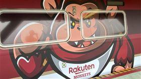 ▲桃園捷運有Rakuten樂天桃猿彩繪列車。(圖/Rakuten桃猿球團提供)