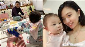 ▲Cindy農曆年帶幼女到湖南和老公團圓,無奈因為武漢肺炎被迫分離。(圖/Cindy提供)