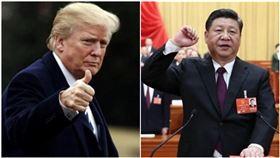 川普,習近平(圖/翻攝自推特Donald J. Trump、新華網)