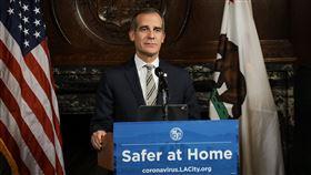 洛杉磯市長賈西迪警告疫情可能更嚴峻武漢肺炎疫情擴大,洛杉磯市長賈西迪(Eric Garcetti)(圖)表示,按照病例增加的速度,洛杉磯會是下一個紐約。(市長辦公室提供)中央社記者林宏翰洛杉磯傳真 109年3月28日