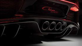 ▲Bugatti使用3D列印打造鈦合金排氣尾飾管。(圖/翻攝自Bugatti官網)