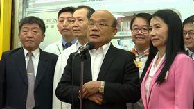 蘇貞昌,陳時中,新莊視察藥局口罩發放