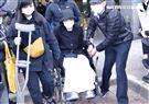 黃路梓茵LULU29日坐輪椅赴劉真靈堂悼念。(圖/記者林聖凱攝影)
