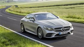 ▲Mercedes-Benz S-Class Coupe(圖/翻攝官網)