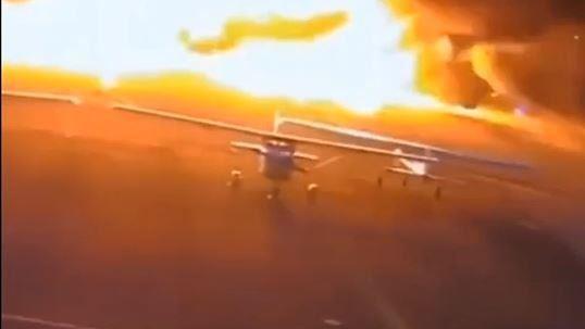 公務班機「滿載防疫物資」馬尼拉機場墜毀 失事畫面曝光了