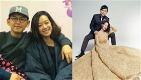 黃子佼婚紗照(翻攝自臉書)