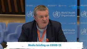 世界衛生組織,WHO緊急事件小組首席專家萊恩(Mike Ryan)(圖/翻攝自WHO直播)