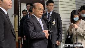 行政院長蘇貞昌。(圖/記者張之謙攝影)