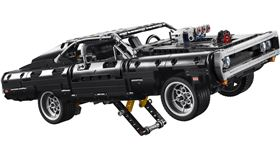 ▲樂高推出玩命關頭唐老大Dodge Charger積木模型。(圖/翻攝Lego網站)