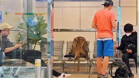 紐西蘭航空地勤搞烏龍 3外籍旅客受困桃園機場由於紐西蘭地勤人員作業疏失,1名英國人與2名日本人26日下午搭乘紐西蘭航空班機來台,但因台灣禁止轉機,外籍人士無法入境,加上紐西蘭也已禁止外國人入境,讓3人處境尷尬。直到晚間,3人仍待在轉機櫃檯旁的休息區內。中央社記者吳睿騏桃園機場攝 109年3月26日