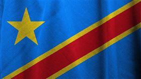 剛果國旗(圖/翻攝自Pixabay)