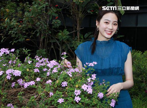 Amy Liu接受三立新聞網專訪。(記者邱榮吉/攝影)