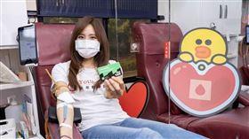 圖/LINE提供,LINE捐血車