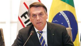 巴西總統波索納洛(圖/翻攝自臉書facebook.com/jairmessias.bolsonaro)