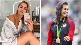 Monica Aksamit曾獲里約奧運銅牌。(圖/翻攝自Monica Aksamit IG)