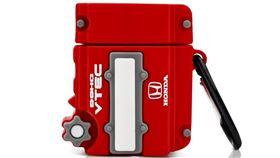 ▲HONDA紅頭引擎AirPods保護套。(圖/翻攝picclick UK網站)