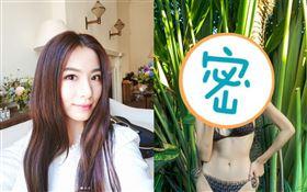 韓國最美健身網紅金寶拉神似田馥甄。(圖/翻攝自 wanna_b IG)