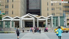 台大醫院(記者陳弋攝影)